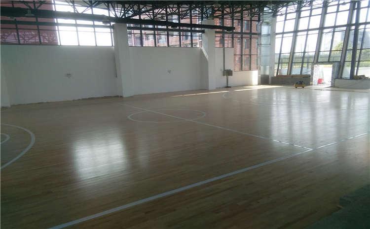 青海专用实木运动地板打磨翻新