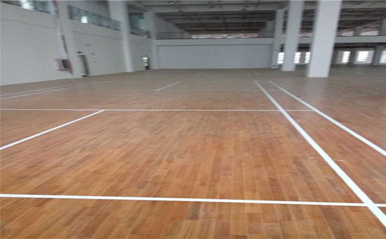 北京硬木企口实木运动地板图片