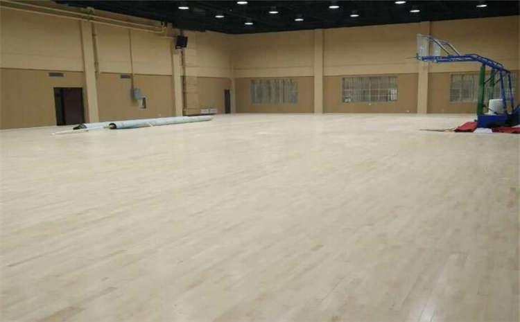 上海专用体育木地板施工工艺
