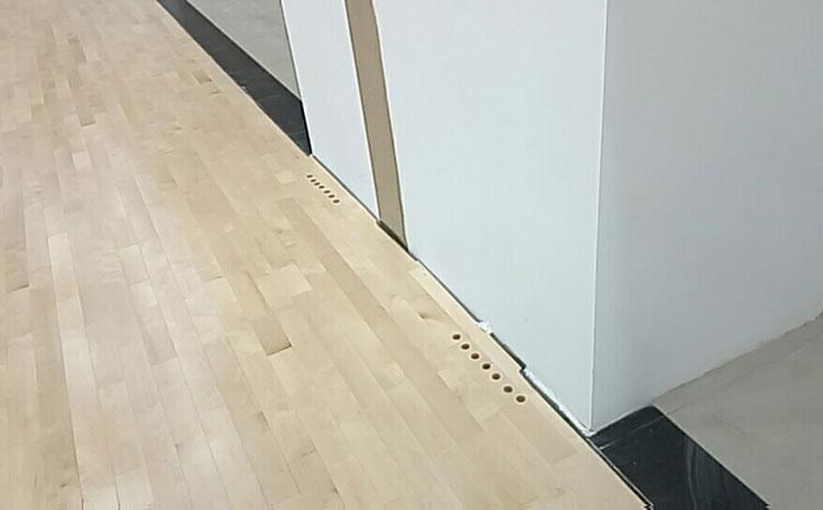比赛场馆体育木地板防潮