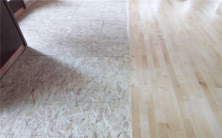 学校体育运动地板打磨翻新
