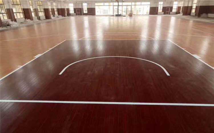 上海枫木实木运动地板厂家报价