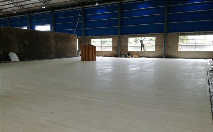 新疆专用体育木地板打磨翻新