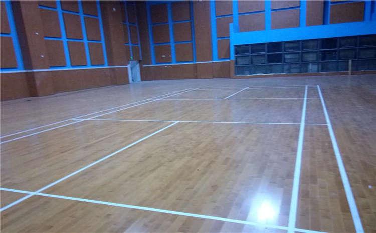 广州硬木企口体育场地板批发