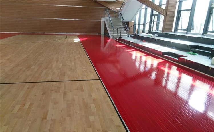 湖南枫桦木体育木地板怎么安装