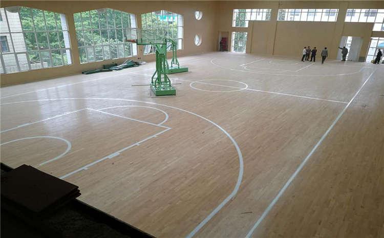 赛事场馆篮球馆地板哪家便宜