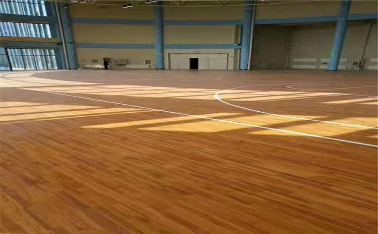 拼装舞台运动地板打磨翻新
