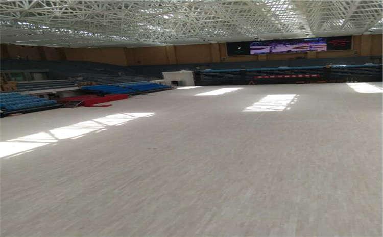 北京企口体育场地板施工方案