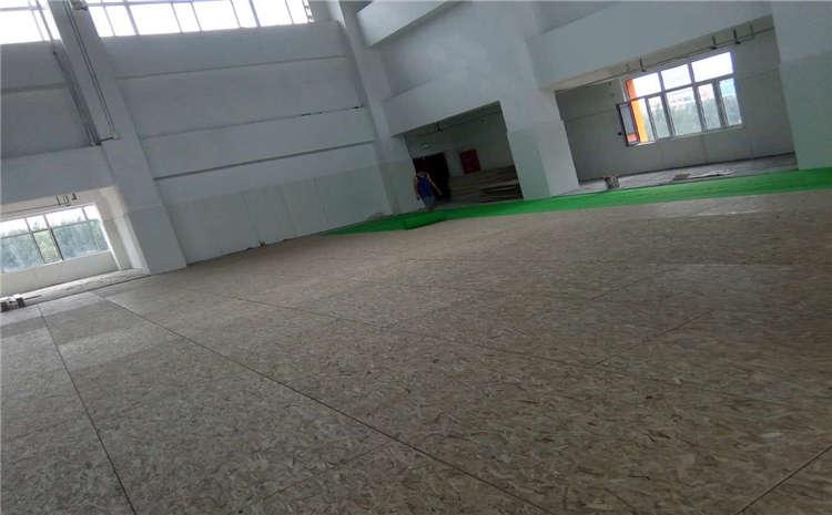枫木体育运动地板结构