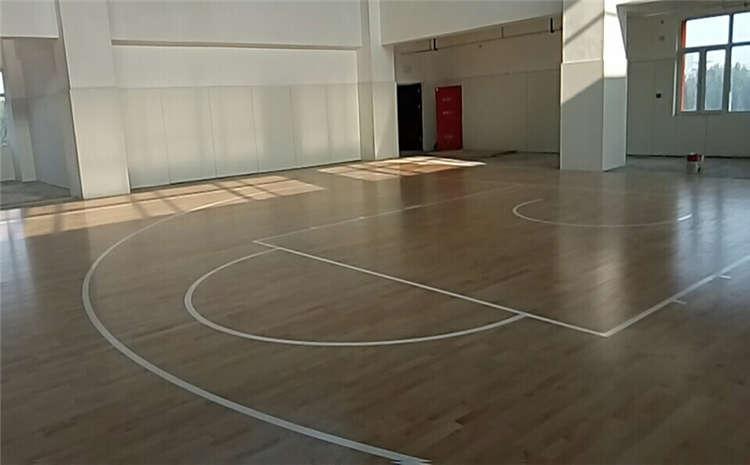 柞木体育运动地板怎么维修