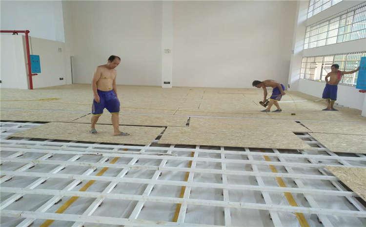 常用的体育木地板怎么保养