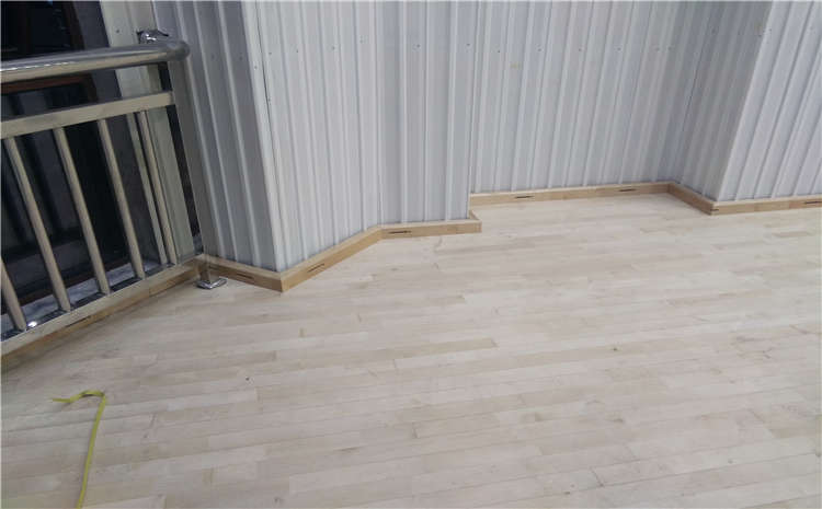 贵州专业体育场地板怎么安装