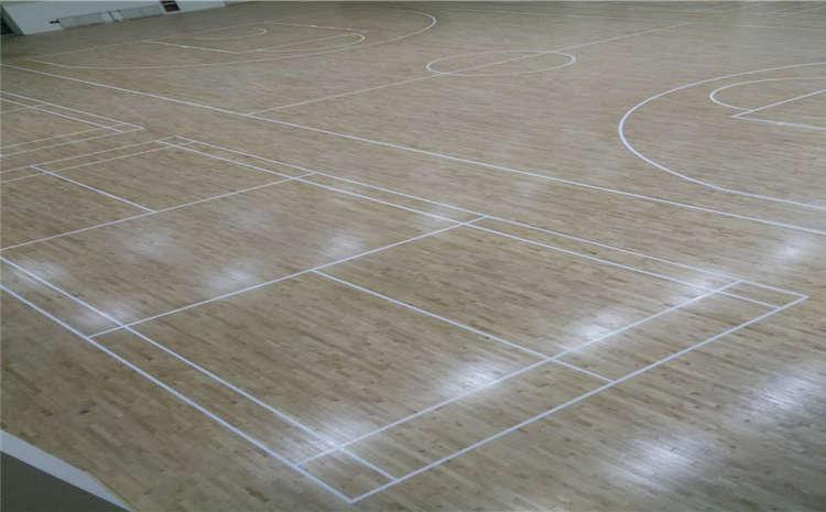 石家庄专业体育木地板价格表