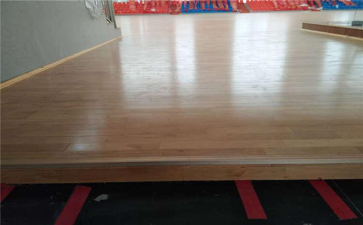 专用体育运动地板施工工艺