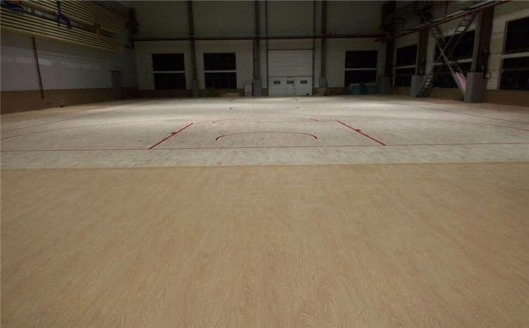 比赛场馆体育木地板结构