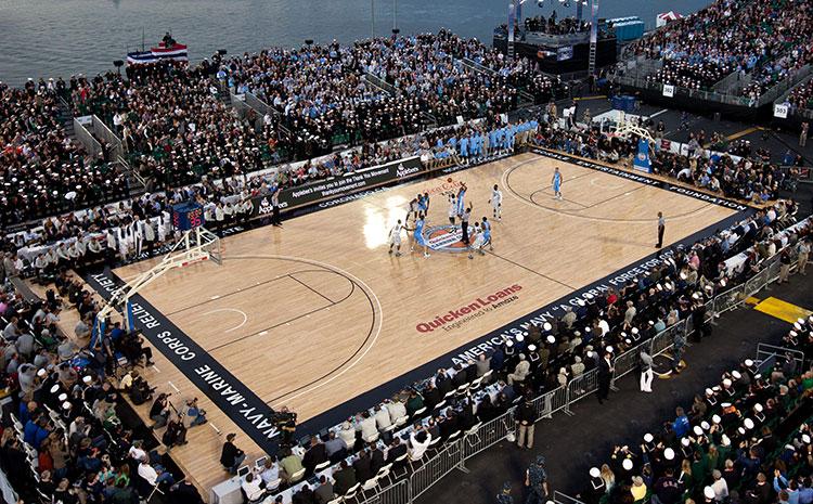 杭州企口实木运动地板价格是多少