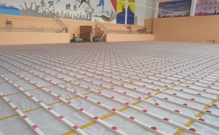 枫木舞蹈室木地板厂家批发