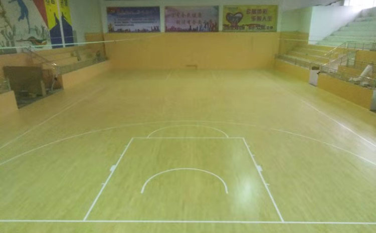 比赛场馆体育运动地板怎么维修