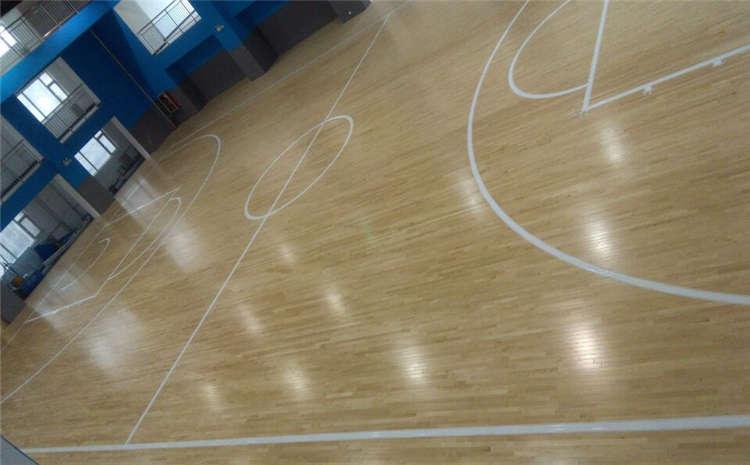 训练馆体育馆木地板厚度