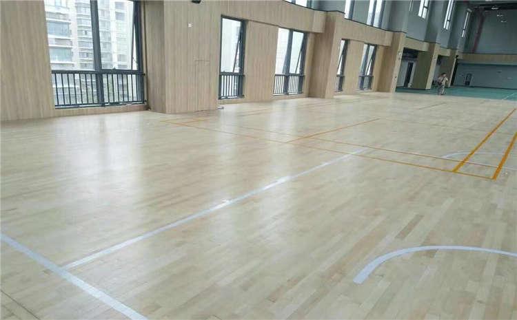 企口体育运动地板施工方案