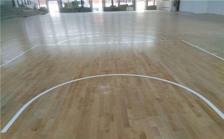 安徽企口体育场地板施工方案