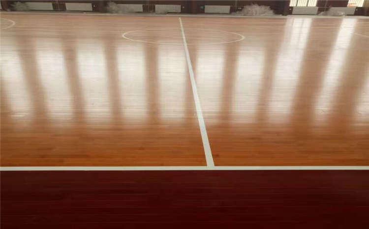 训练馆实木运动地板价格是多少