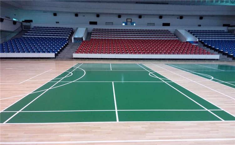 新疆枫桦木实木运动地板厚度