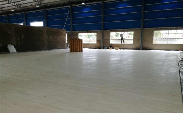 企口舞蹈室木地板施工方案