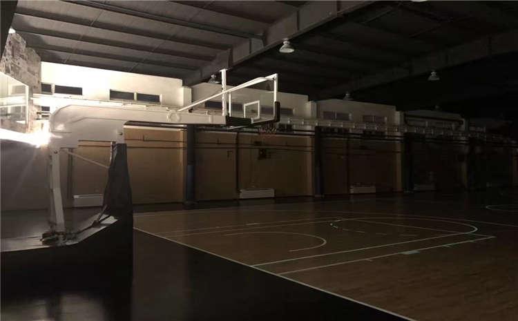 室内舞台木地板安装