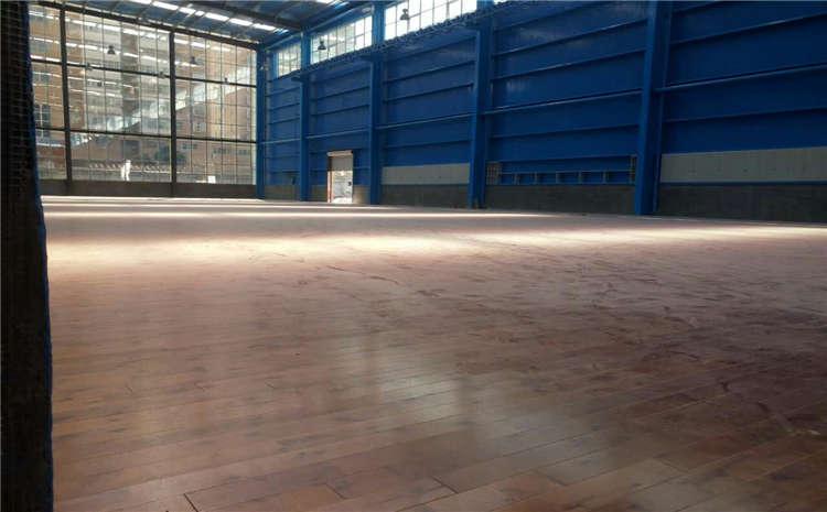内蒙古柞木体育木地板施工技术