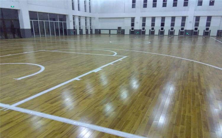 柞木篮球场地板工厂