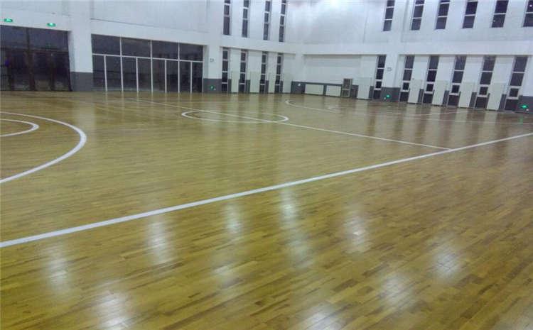 重庆体育木地板怎么安装