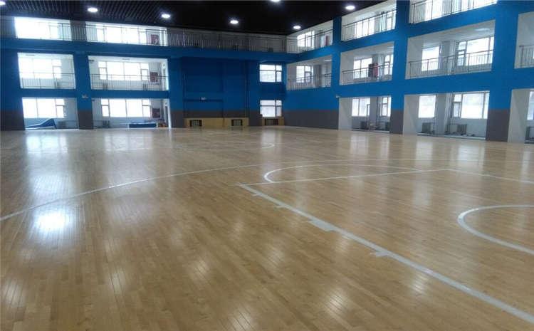 安徽实木运动地板施工技术